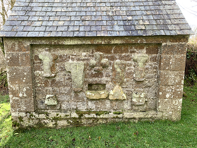 Temple Church Outbuilding Carving